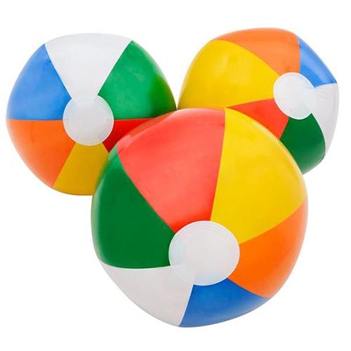 500x500 Multi Color Beach Balls