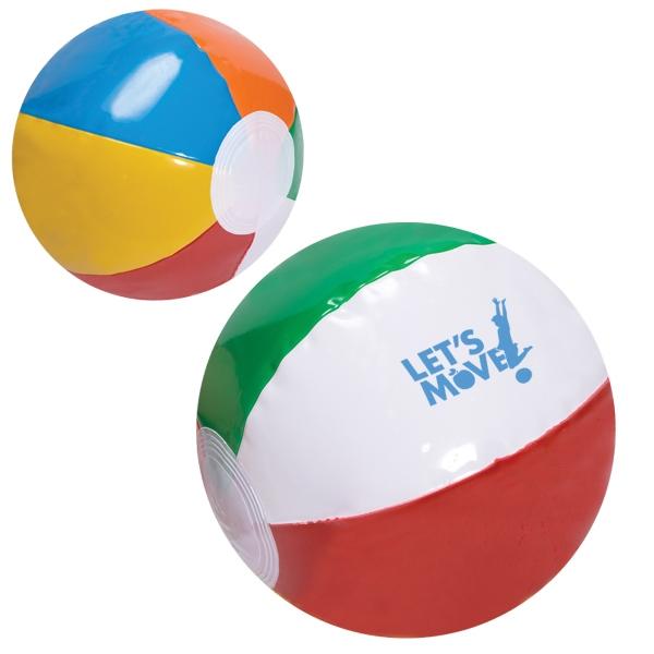 600x600 Promotional Beach Balls Customized Beach Balls Usimprints