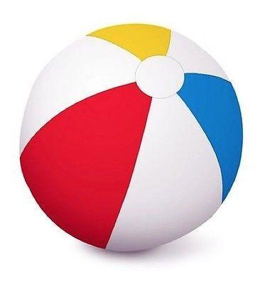 390x400 Aquafun 51cm Matt Panelled Beach Balls
