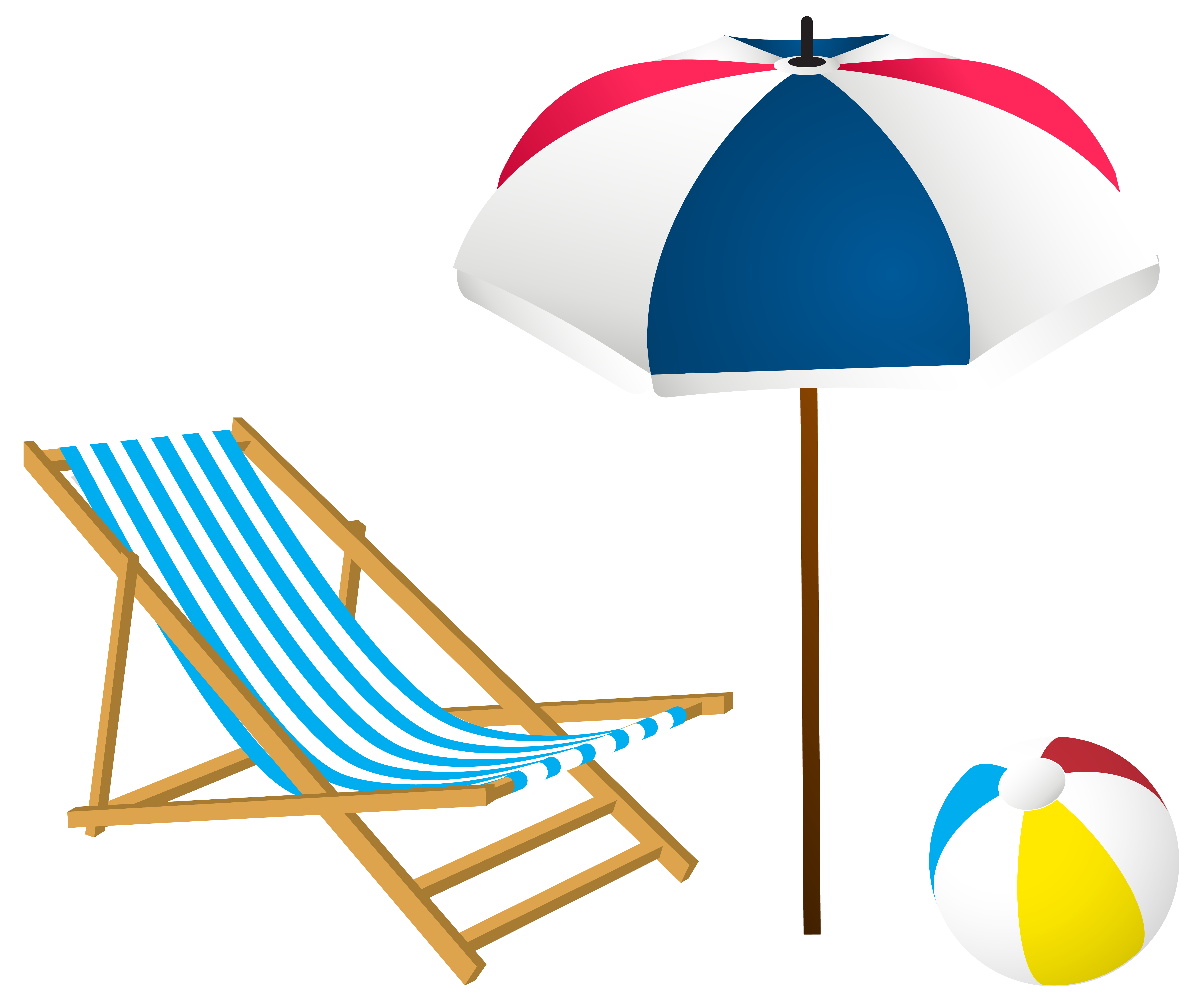 6396x5314 Beach Summer Set Png Clip Art Imageu200b Gallery Yopriceville