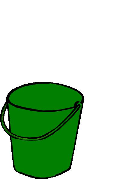 390x595 Green Bucket Clip Art