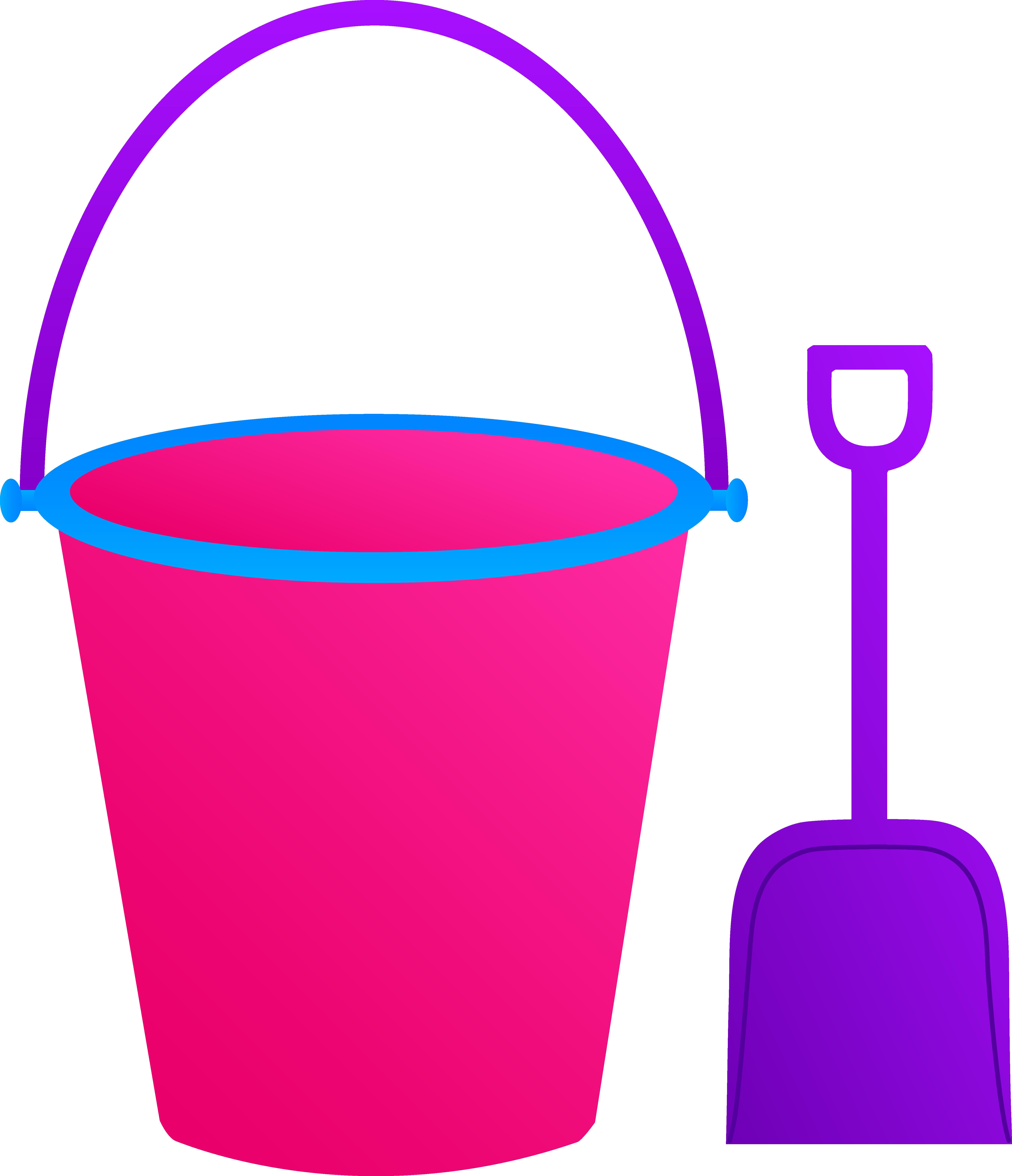 5409x6283 Pink Pail With Purple Shovel