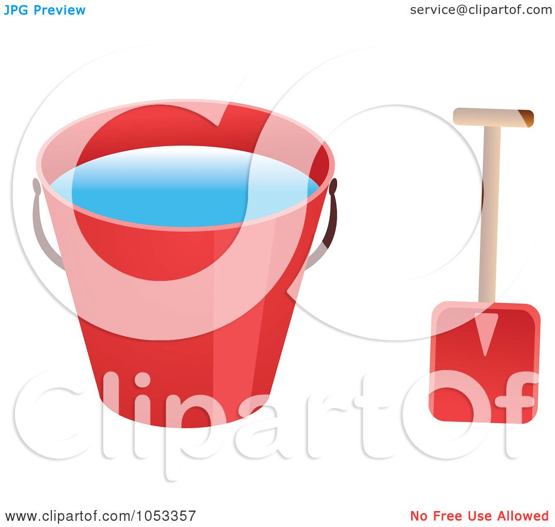 1080x1024 Royalty Free Vector Clip Art Illustration Of A Shovel And Red