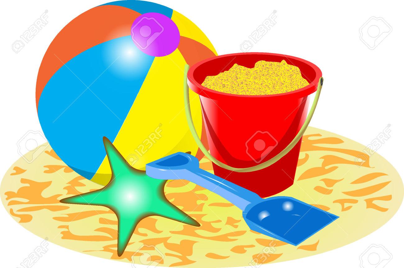 1300x865 Sand Clipart Beach Ball
