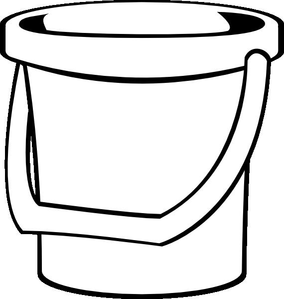 570x599 Water Bucket Clipart