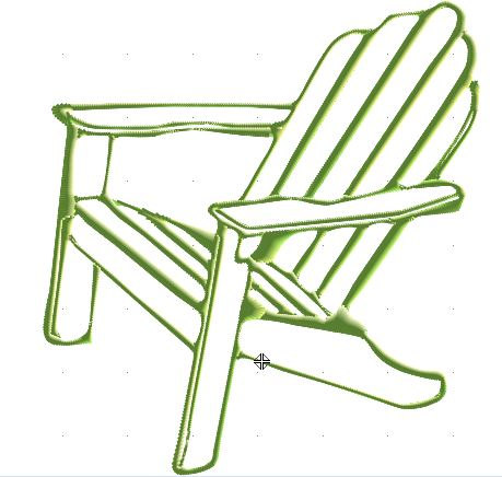 459x436 Adirondack Chair Clipart