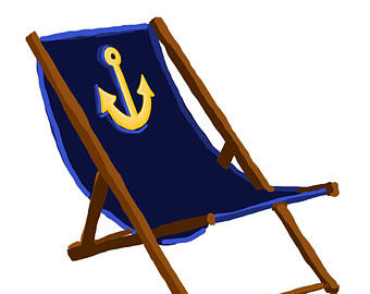 340x270 Beach Clipart Beach Chair