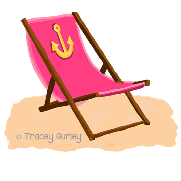 600x600 Beach Chair Clipart No Watermark