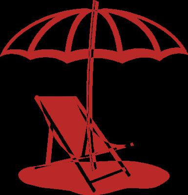 385x399 Beach Umbrella Cliparts