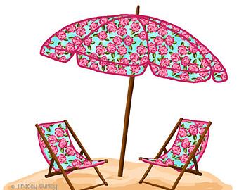 340x270 Chair Clipart Beach Umbrella