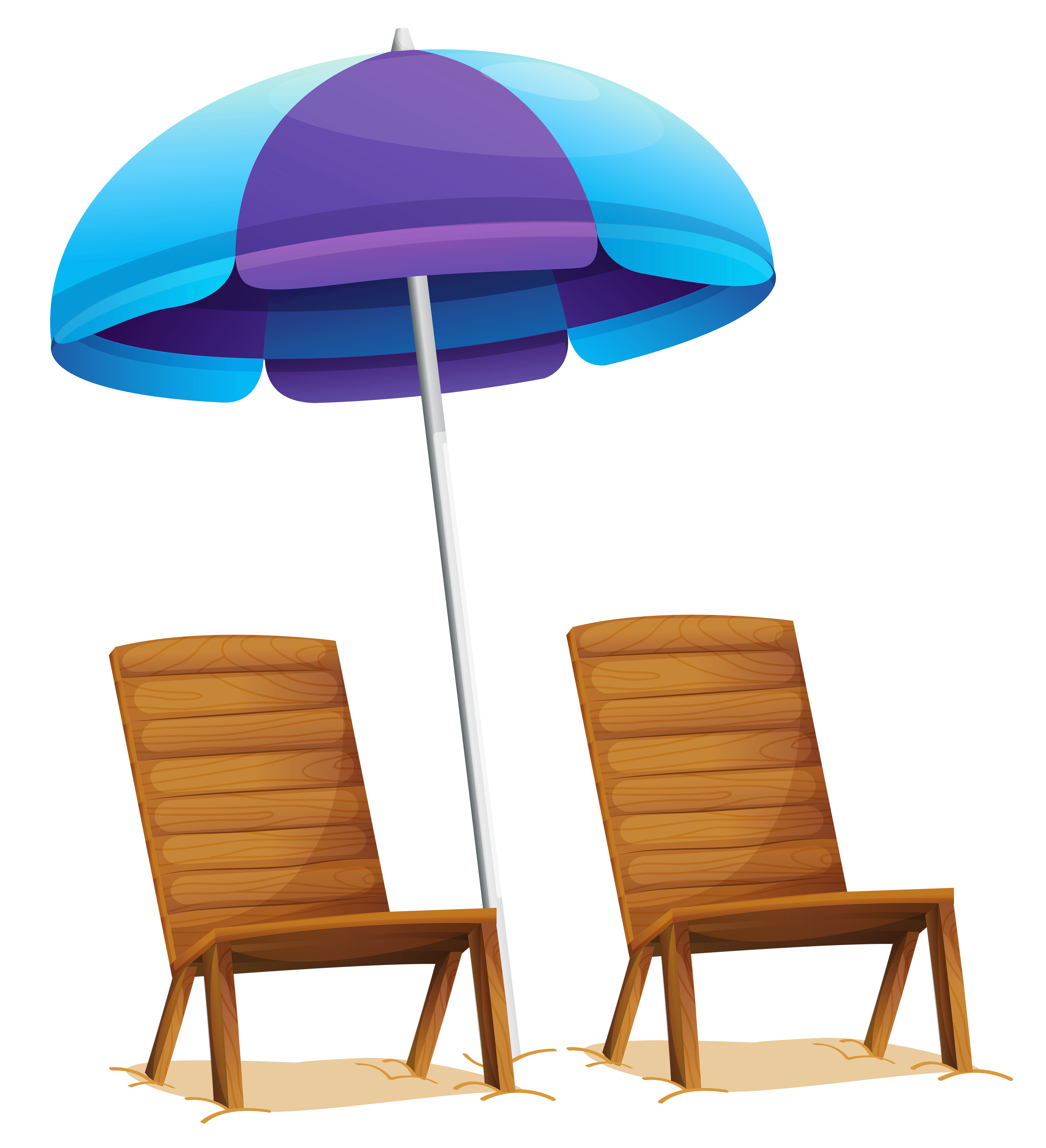 4767x5234 Transparent Beach Umbrella And Chairs Png Clipartu200b Gallery