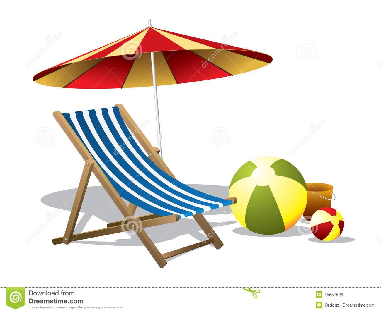 1300x1070 Beach Chair Clipart Free