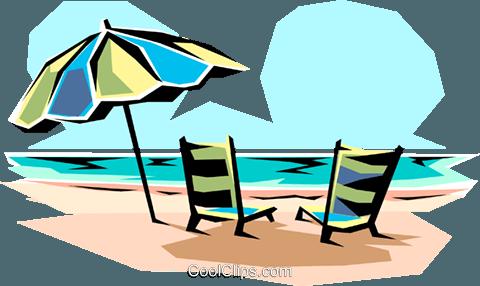 480x286 Beach Chair Clipart No Watermark
