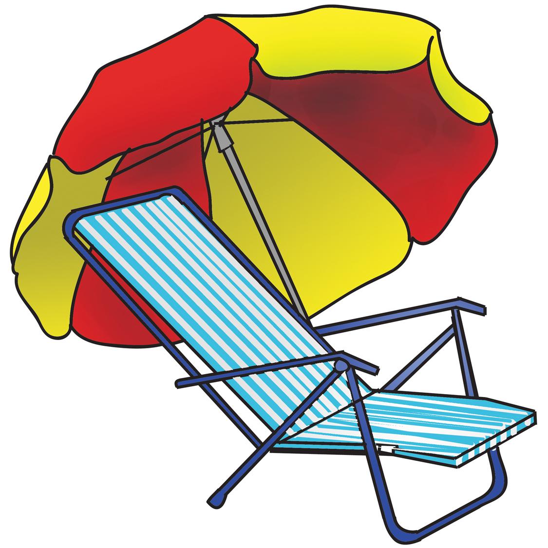 1125x1125 Beach Chair Clipart