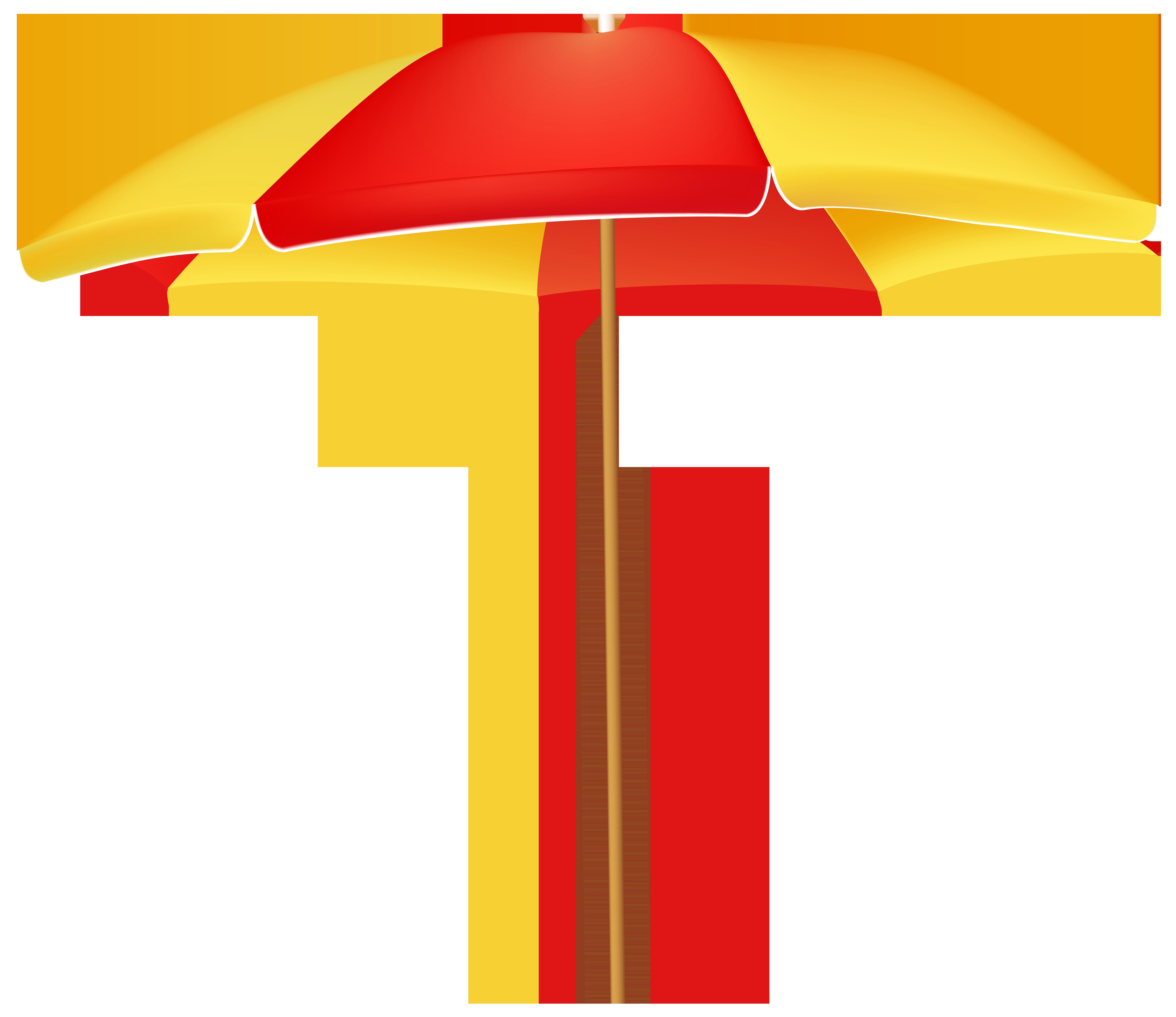 8000x6920 Beach Umbrella Png Clip Art