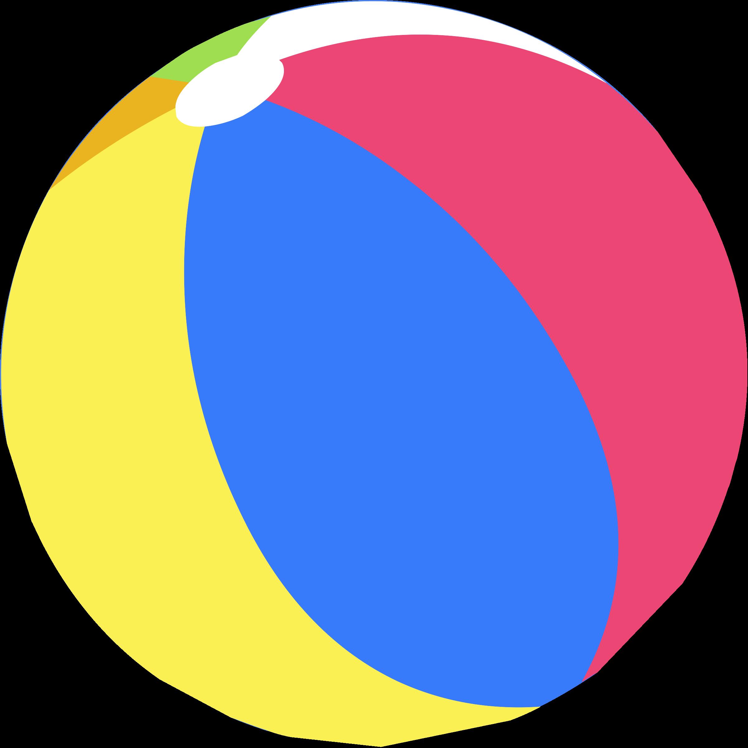2400x2400 Beach Ball Clip Art