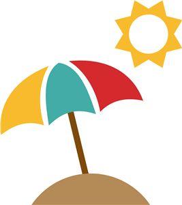 267x300 Beach Umbrella Clip Art Many Interesting Cliparts