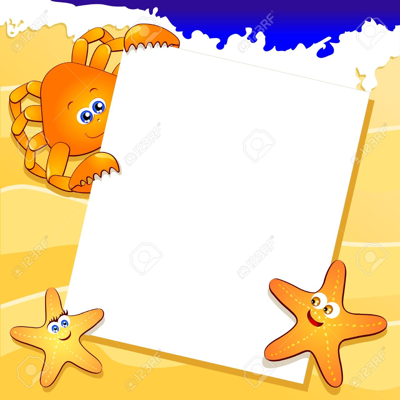 1300x1300 Free Beach Clipart Backgrounds