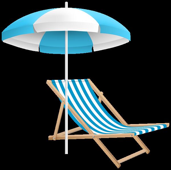 600x596 Beach Chair And Umbrella Png Clip Art Transparent Image