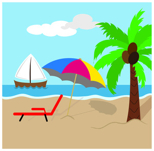 300x295 Beach Clipart Free Clipart Images Clipartcow 3
