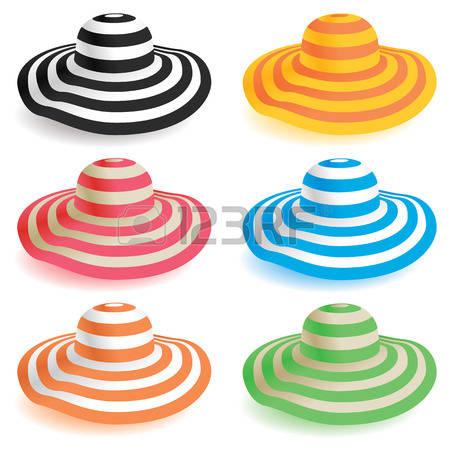 450x450 Straw Hat Clipart Beach Hat