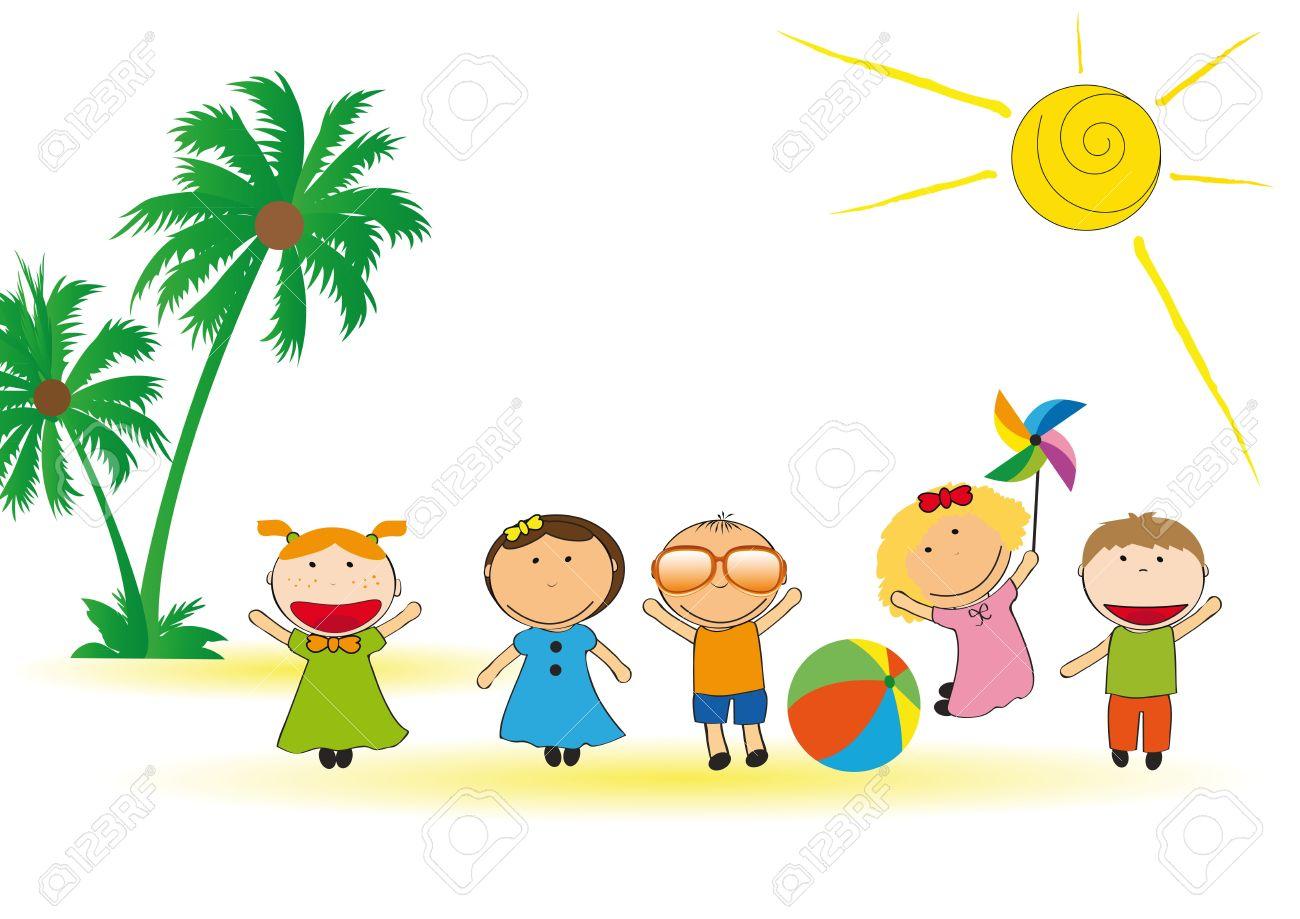 1300x919 Beach Clipart Beach Party