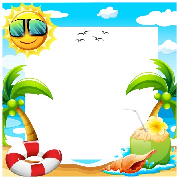 626x626 Background Clipart Beach Party