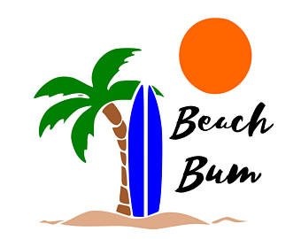340x270 Beach Scene Svg Etsy