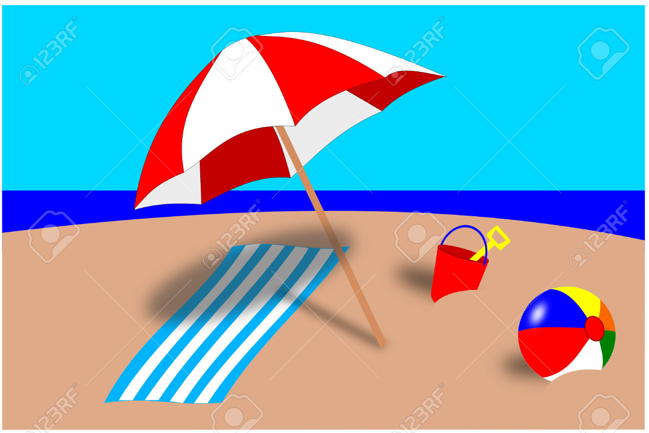 1300x867 Sand Clipart Beach Umbrella