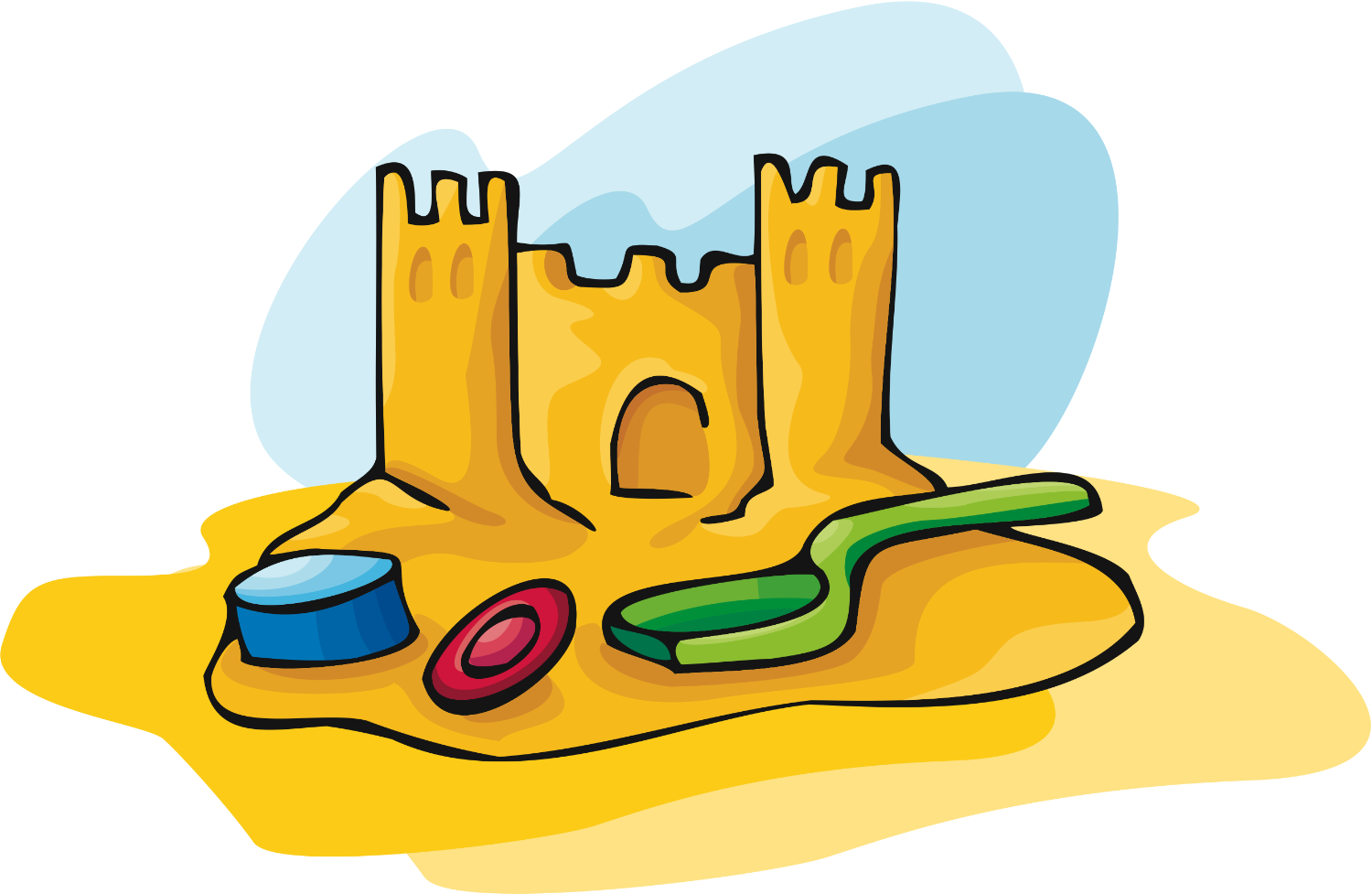 Beach Toys Clipart Free Download Best Beach Toys Clipart