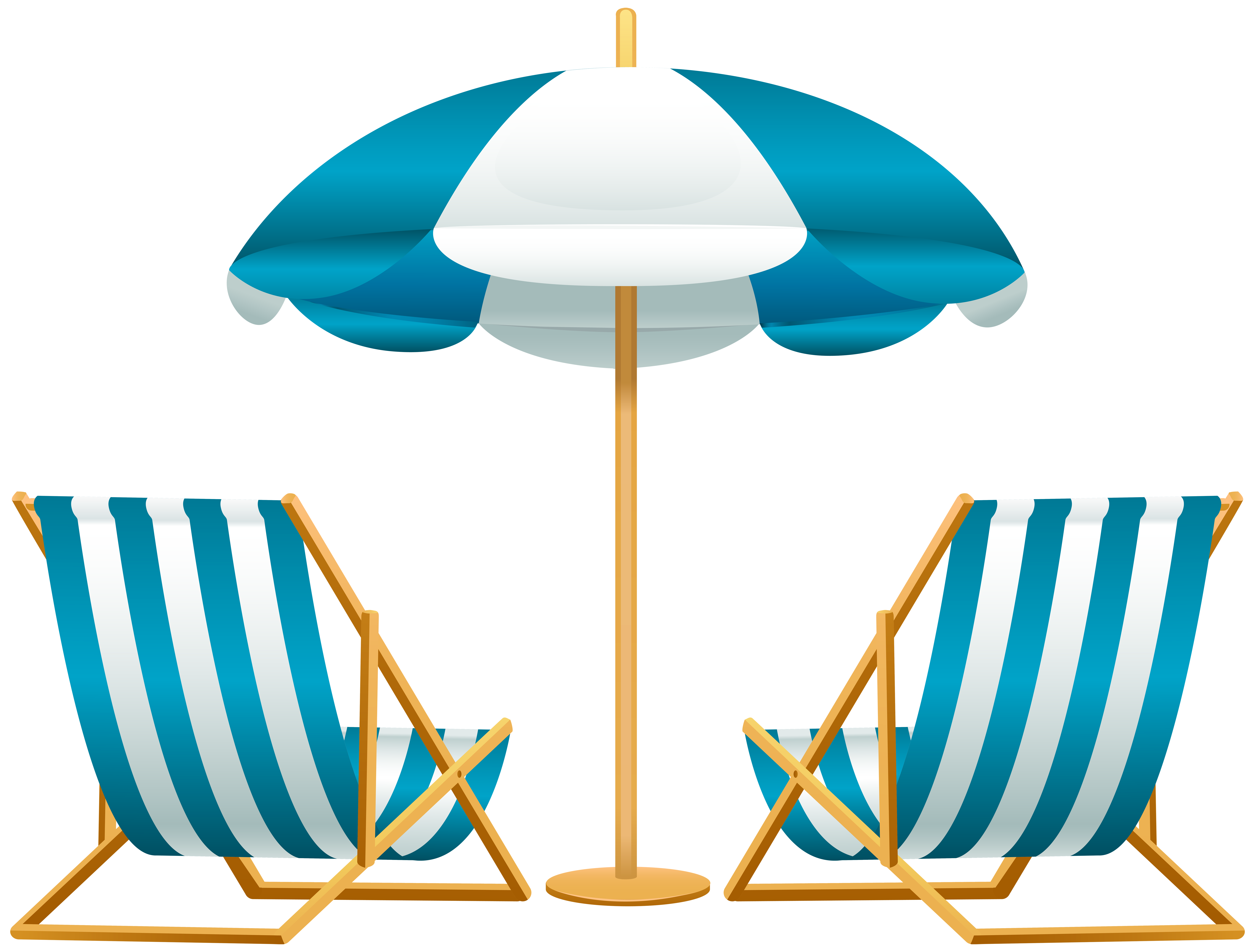 8000x6069 Beach Umbrella With Chairs Free Png Clip Art Imageu200b Gallery