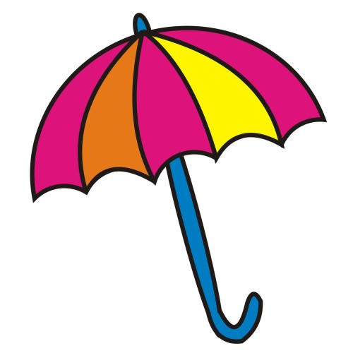 500x500 Beach Umbrella Clip Art Free Vector For Free Download About 8 2