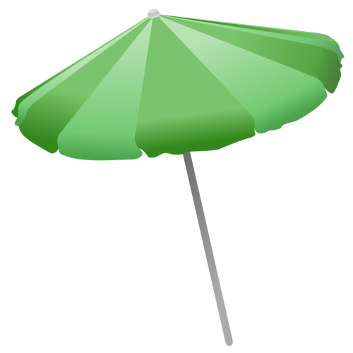 500x500 Beach Umbrella Vector Clip Art Public Domain Vectors