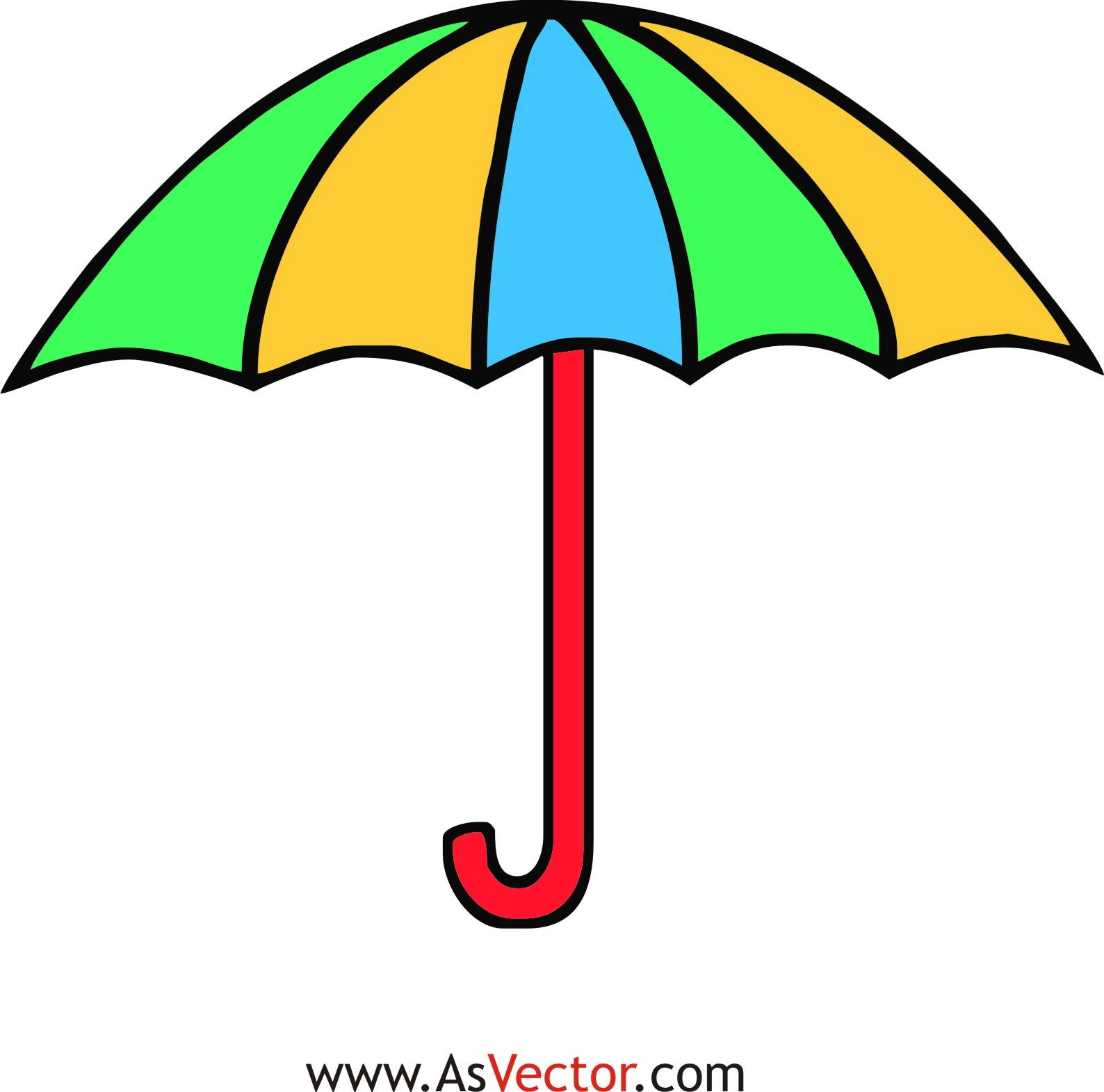 1588x1571 Clip Art Umbrella Many Interesting Cliparts