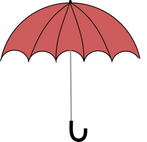 299x288 Red Beach Umbrella Clipart Free Clip Art Images Image