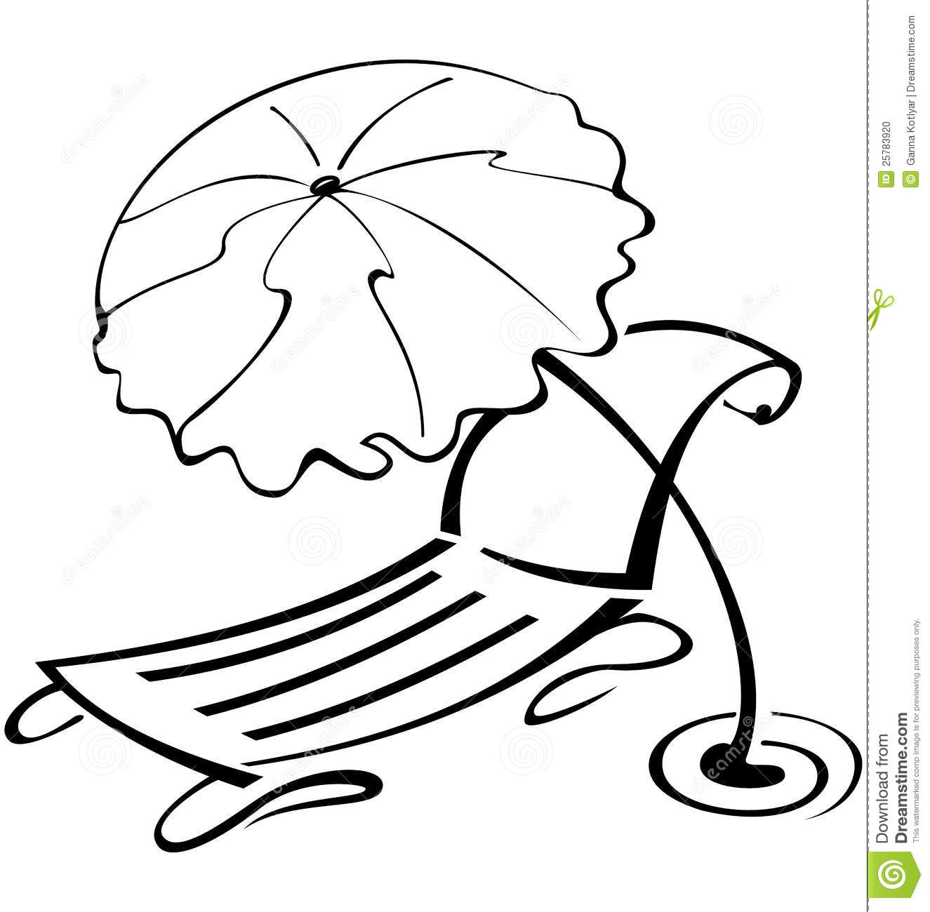 1325x1300 Beach Clipart Black And White