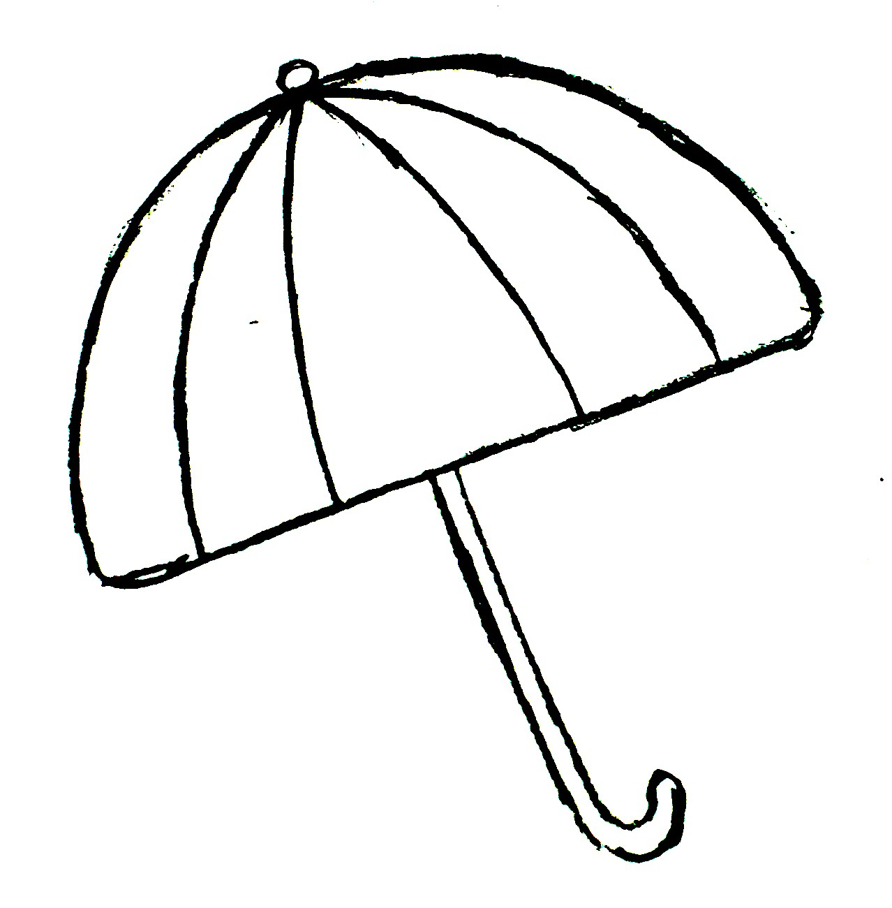 1278x1300 Umbrella Black And White Beach Umbrella Clipart Black And White