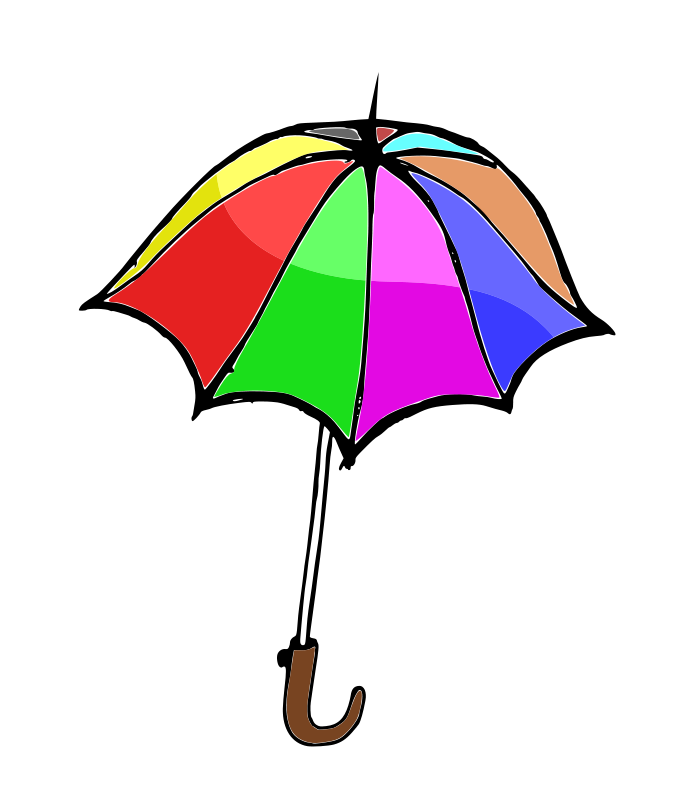 693x800 Umbrella01 Free Vector 4vector