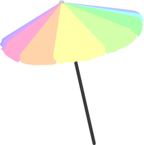 297x300 Beach Umbrella Clip Art