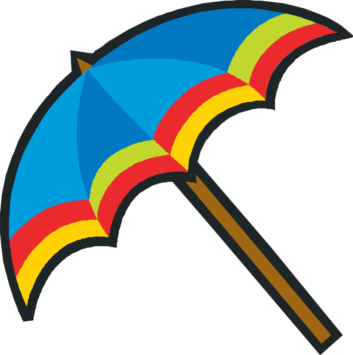 353x355 Umbrella Clipart Beach Umbrella