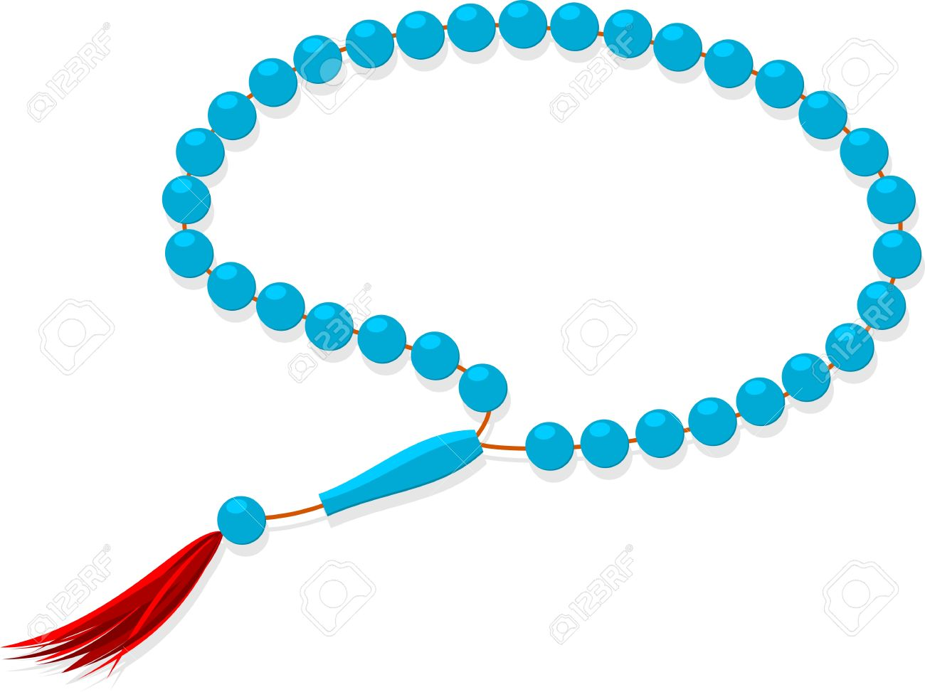 1300x973 Prayer Beads Rosary Clipart