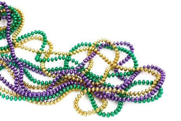 600x402 Mardi Gras Beads Png
