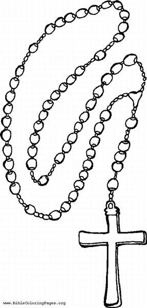 287x600 Religion Clipart Rosary
