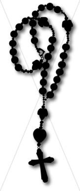 163x388 Rosary Beads Clip Art Cliparts