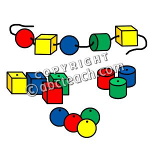 300x300 Beads Clipart
