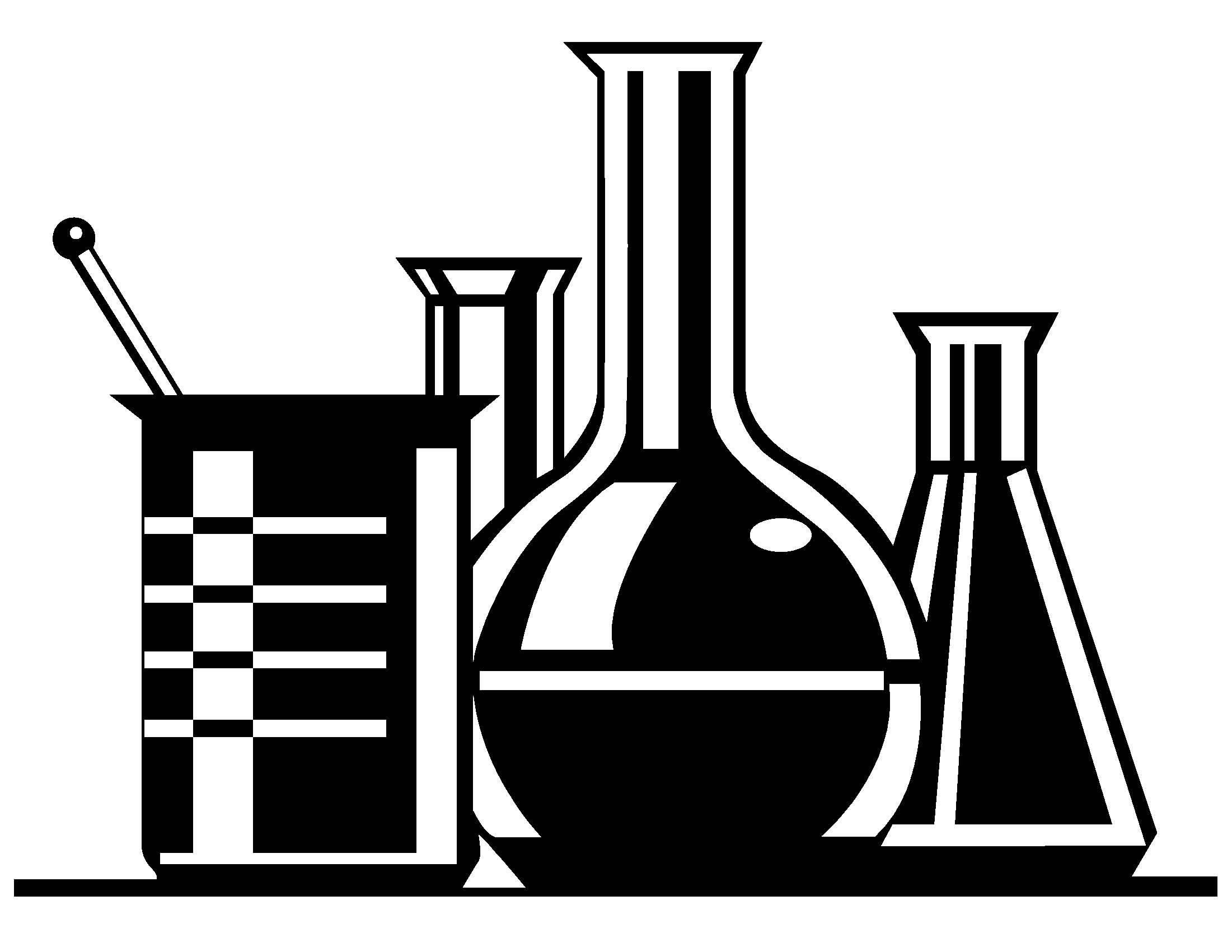 2201x1701 Laboratory Clipart Black And White