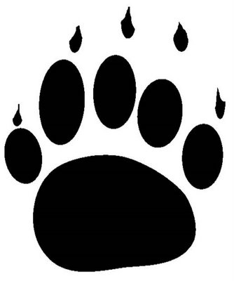 334x400 Bear Claw Grizzly Bear Paw Print Clipart Free Images 7