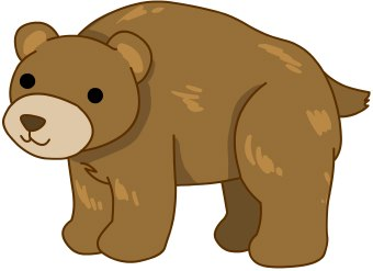 340x247 Standing Bear Clipart Free Clipart Images 2