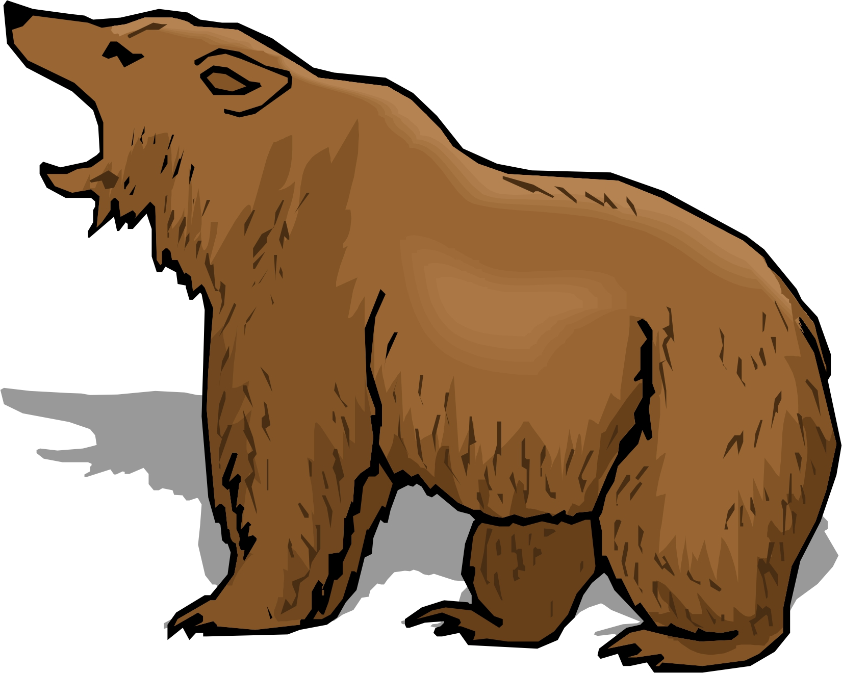 1651x1320 Cartoon Bear Clip Art Free Clipart Images Clipartcow