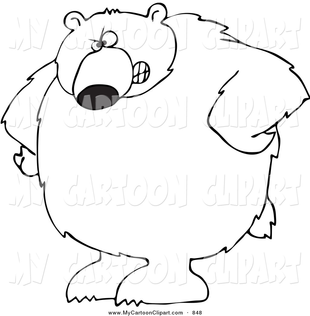 1024x1044 Black Bear Clipart Grizzly Bear